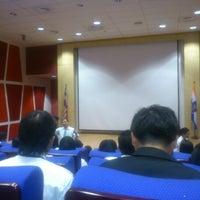 Photo taken at MAHSA Auditorium by Angela J. on 11/22/2012