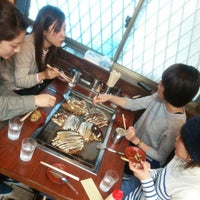 Photo taken at ひかりや お好み焼 by こーちゃん ™. on 10/31/2014