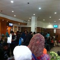 Photo taken at Bank Mandiri Klandasan by ary e. on 11/2/2013
