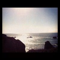 Photo taken at Portuguese Beach by Shalounda C. on 10/24/2012