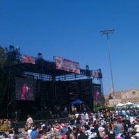 Photo taken at UCLA Intramural Field by Pj S. on 5/25/2014