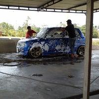 Photo taken at Azeez Car Wash by Syukri B. on 3/15/2014