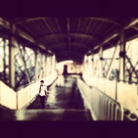 Photo taken at Yellow Line - Quezon Avenue Station by Remjie D. on 11/12/2012