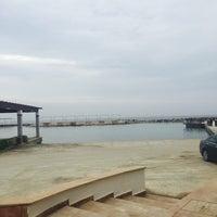 2/28/2017 tarihinde Selin T.ziyaretçi tarafından La Plage Port Cratos'de çekilen fotoğraf