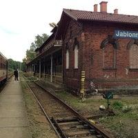 Photo taken at Železniční stanice Jablonné v Podještědí by SWIS-SHOP.cz R. on 8/22/2014