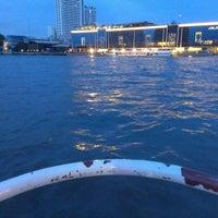 Photo taken at Khlong San Pier by Khwan A. T. on 7/7/2013