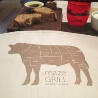 Photo taken at Maze Grill by Alex A. on 3/24/2013