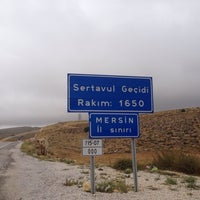 Photo taken at Sertavul Geçidi by Erkan on 9/29/2014
