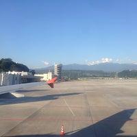 Photo taken at Gate 7 by Roman S. on 6/14/2014