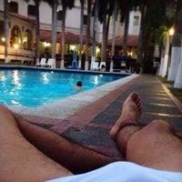 Photo taken at Piscina Hotel El Prado by Jerry O. on 4/30/2014