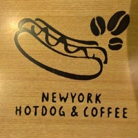 Photo taken at NewYork Hotdog&Coffee by Liza K. on 9/25/2012
