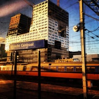 Photo taken at Utrecht Central Station by Allard S. on 10/30/2013