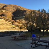 Photo taken at Weber Canyon Rest Area by Shawn S. on 10/13/2016