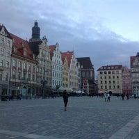 Photo taken at Wrocław by Arzu K. on 4/11/2013