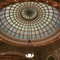 Photo taken at Tiffany Dome At The Chicago Cultural Center by Ann T. on 10/15/2017