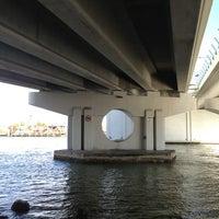 Photo taken at Johns Pass Bridge by Charles C. on 6/25/2013
