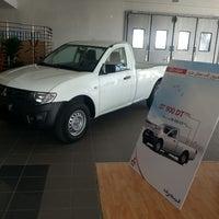 Photo taken at Showroom Mitsubishi Motors Charguia I (Société Le Moteur) by Haykel A. on 9/6/2013