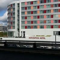 Photo taken at Mövenpick Hotel Stuttgart Airport & Messe by Haykel A. on 9/17/2013