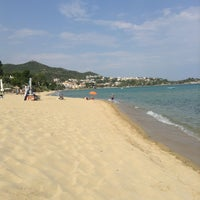 Photo taken at Palio Tsifliki Beach by ❤️Vladimira B. on 7/13/2013