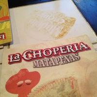 Photo taken at La Chopería by Ivonne M. on 4/7/2013