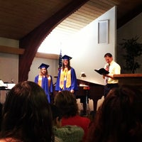 Photo taken at Calvary Baptist Church by Justin F. on 6/2/2013