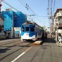 Photo taken at 上町線 北畠駅 by pokumi on 5/8/2013