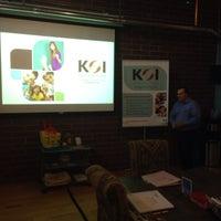 Photo taken at KOI Education by Dr Julian Hillel W. on 7/21/2014