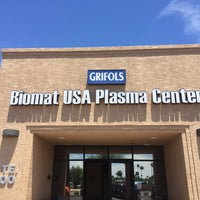 Photo taken at Biomat Plasma Donation Center by Dr Julian Hillel W. on 7/25/2015