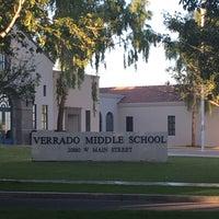 Photo taken at Verrado Middle School by Dr Julian Hillel W. on 10/21/2016
