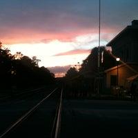 Photo taken at Railroad Square Art Park by Ryan J. on 10/5/2012