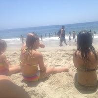 Photo taken at Anita Street Beach by Michael B. on 6/19/2014