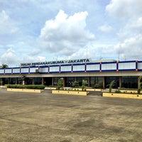 Photo taken at Halim Perdana Kusuma International Airport (HLP) by Justin A. on 1/9/2013