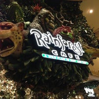 Photo taken at Rainforest Cafe by Joshua F. on 5/3/2013