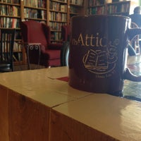 Photo taken at The Attic Books & Coffee by Cassie S. on 6/25/2016