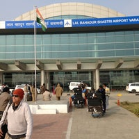 Photo taken at Lal Bahadur Shastri International Airport, Varanasi (VNS) by John L. on 1/6/2013