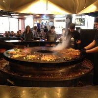 Photo taken at HuHot Mongolian Grill by Robin W. on 4/26/2013