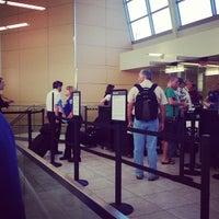 Photo taken at TSA Checkpoint by Marsh S. on 7/24/2013