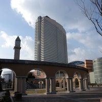 Photo taken at Hilton Fukuoka Sea Hawk by aki on 1/17/2013