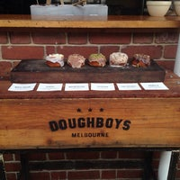 Photo taken at Doughboys Doughnuts by Rosa M. on 12/16/2013