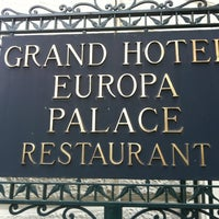 Photo taken at Europa Palace Grand Hotel Sorrento by Sardinia G. on 2/21/2013