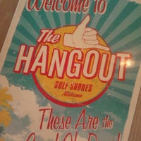 Photo taken at The Hangout by JennDuede on 5/18/2013