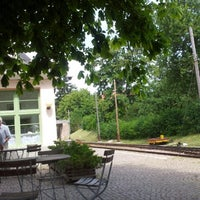Photo taken at Café am Bahnhof by francesca q. on 8/8/2013