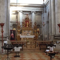 Photo taken at Chiesa dei S. Geremia e Lucia by Richard Y. on 7/30/2013