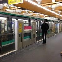 Photo taken at Métro Gare de Lyon [1,14] by Richard Y. on 11/6/2012