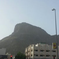 Photo taken at Al Nur Mountain - Hira Cave by Awab A. on 4/10/2013