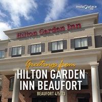 Photo taken at Hilton Garden Inn Beaufort by Ben B. on 4/5/2013