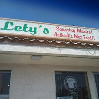 Photo taken at Lety's Authentic Mexican Food by Alex C. on 7/27/2013