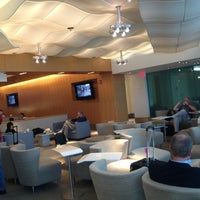 Photo taken at Delta Sky Club by Isaac D. on 11/6/2012