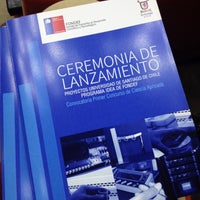 Photo taken at Salón de Honor - Universidad de Santiago de Chile by Jesús M. on 11/7/2013