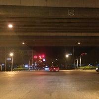 Photo taken at Srinagarindra-Lasalle Intersection by Khun V. on 7/29/2016